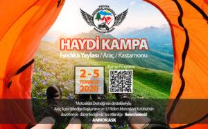 2-5 Temmuz 2020 Fındıklı Yaylası Kamp ve Sürüşü